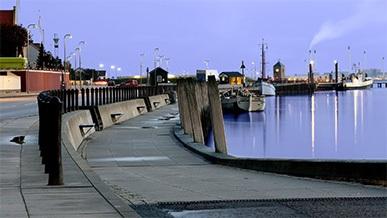 Kystsikring, Fanø Havn
